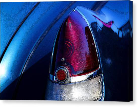 Blue Caddy Dreams Canvas Print
