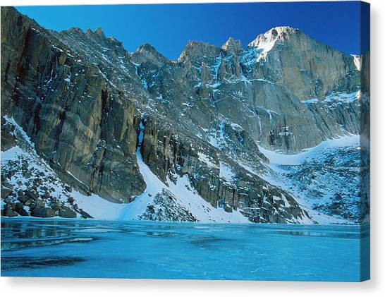 Blue Chasm Canvas Print