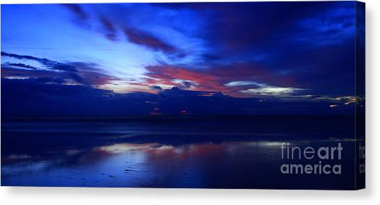 Deep Dawn Ponte Vedra Canvas Print