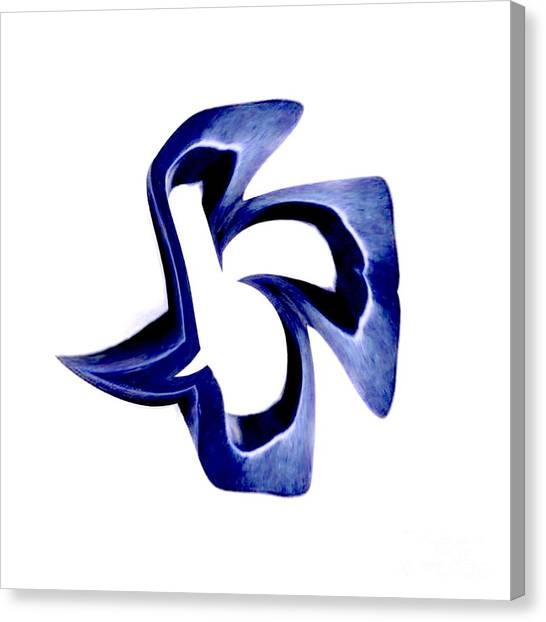 Blue Dove Canvas Print