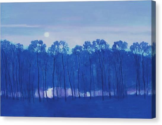 Blue Enchantment Il Canvas Print