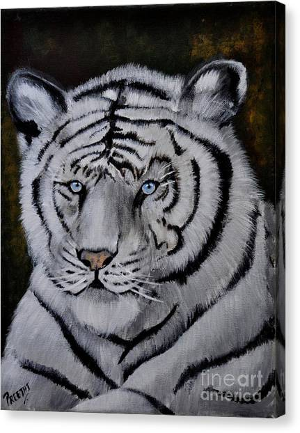 Wild Eyes Canvas Print