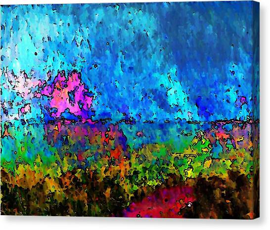 Blue Horizon Two Canvas Print
