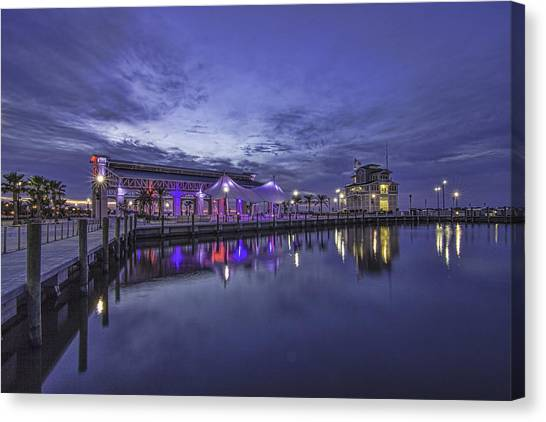 Blue Hour Dawn Canvas Print