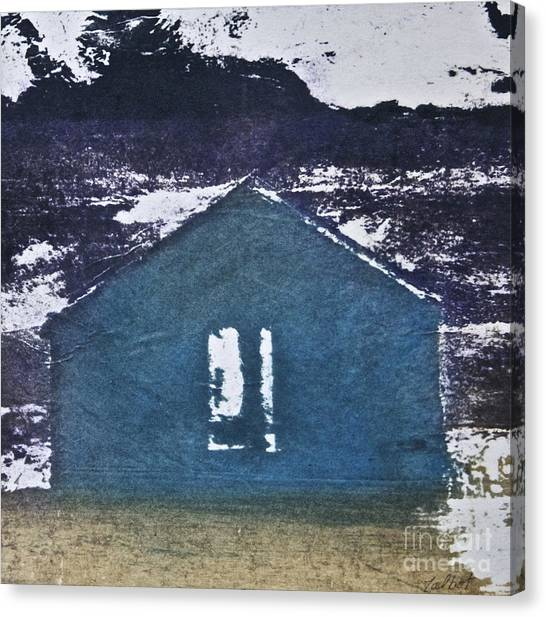 Blue House Canvas Print by Deborah Talbot - Kostisin