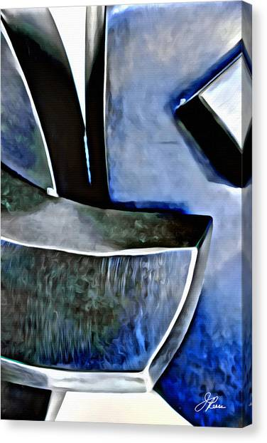Blue Iron Canvas Print