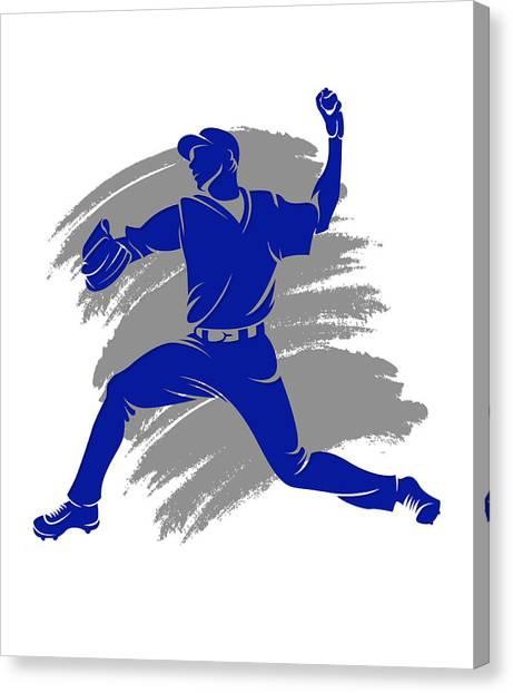 Toronto Blue Jays Canvas Print - Blue Jays Shadow Player2 by Joe Hamilton