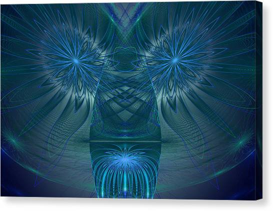 Blue Julian Vase Canvas Print