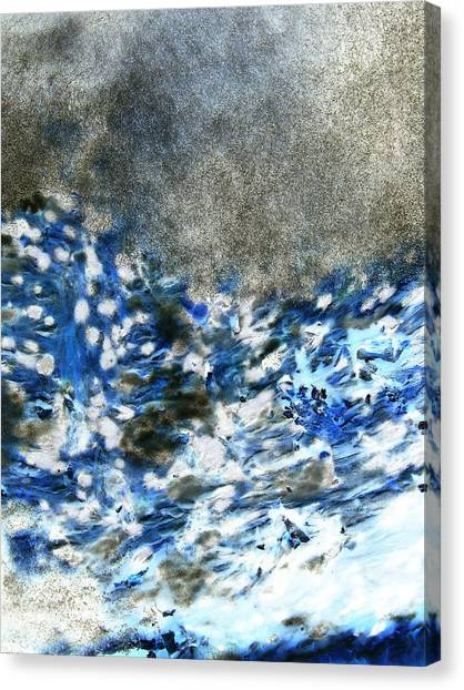 Blue Mold Canvas Print