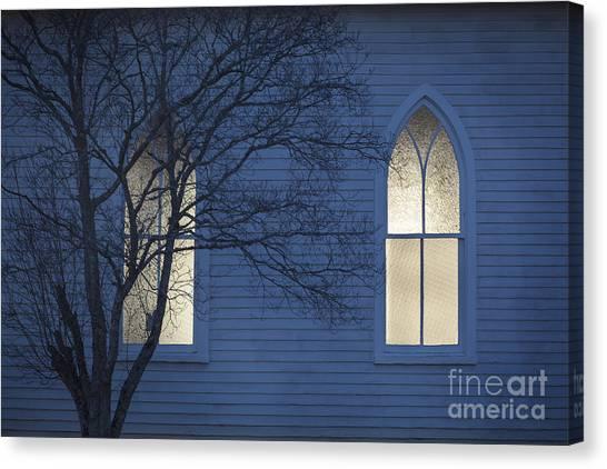 Blue Mulberry Canvas Print