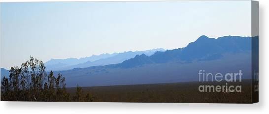 Blue Nevada Canvas Print