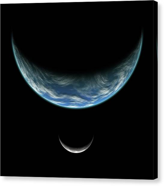 Blue Planet No.5 Canvas Print