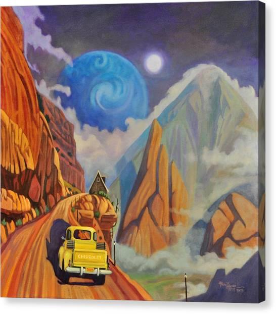 Cliff House Canvas Print