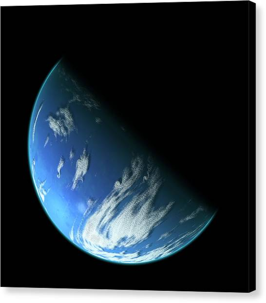 Blue Planet1 Canvas Print