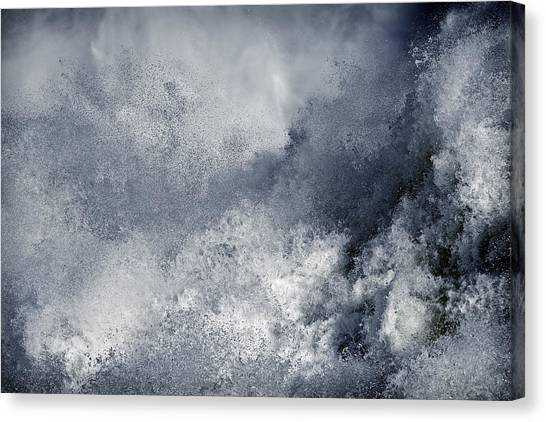 Blue Poseidon Canvas Print