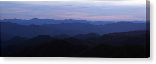 Blue Ridge Blues Canvas Print