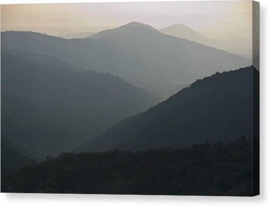 Blue Ridge Morning Canvas Print