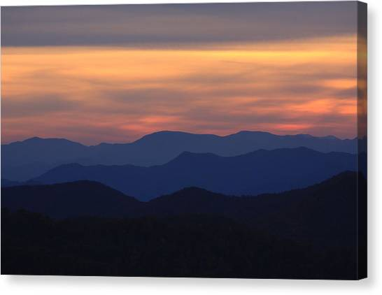 Blue Ridge Nc Canvas Print
