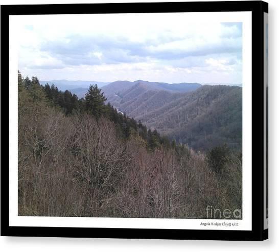 Blue Ridge Parkway Horizon Canvas Print