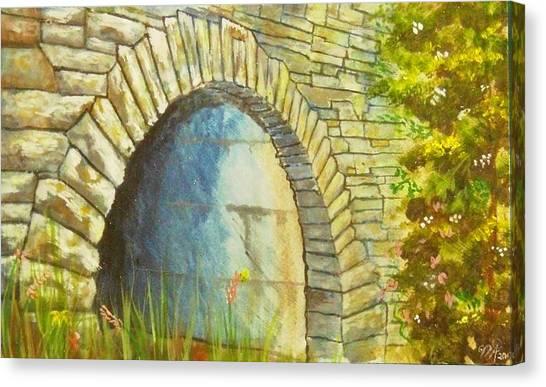Blue Ridge Tunnel Canvas Print