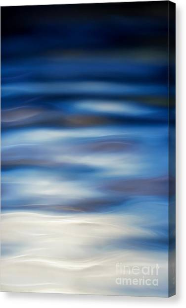 Blue Ripple Canvas Print