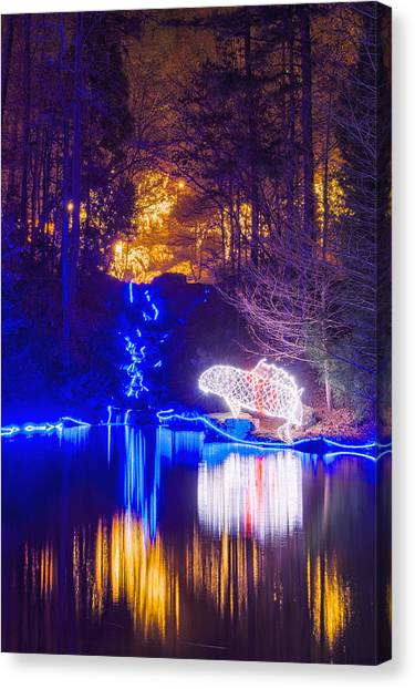Blue River - Full Height Canvas Print