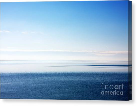 Blue Sea Scene Canvas Print