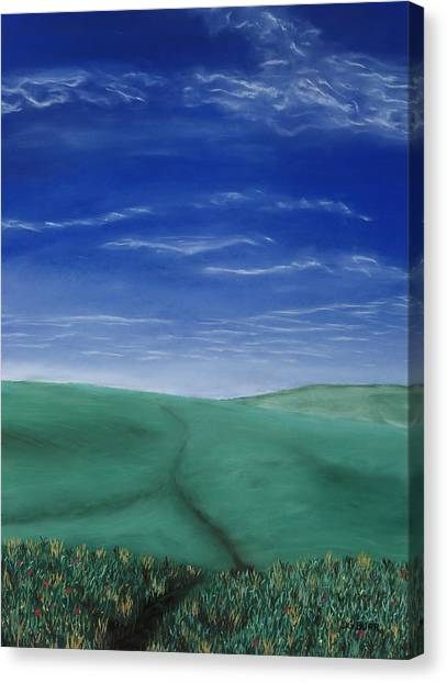 Blue Skies Ahead Canvas Print