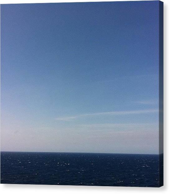 Bahamas Canvas Print - Blue Skies, Blue Waters. #ocean #water by Marc Landas