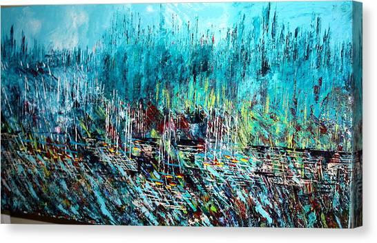 Blue Skies Chicago - Sold Canvas Print