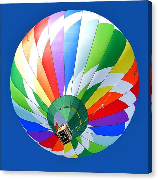 Blue Sky Balloon Canvas Print by Stephen Richards