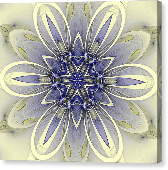 Blue Trance Canvas Print