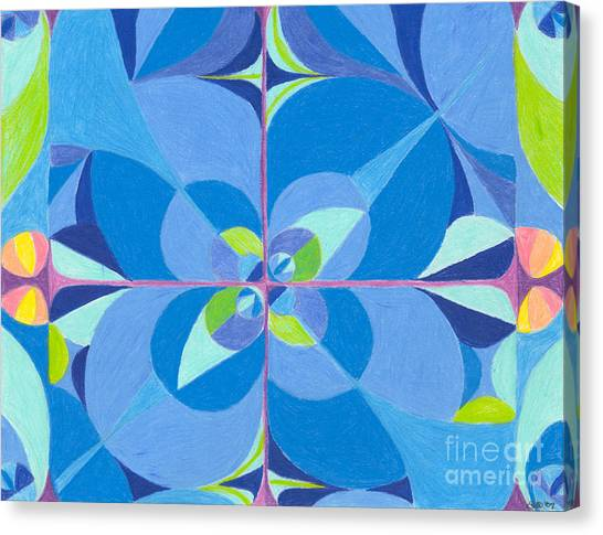 Blue Unity Canvas Print