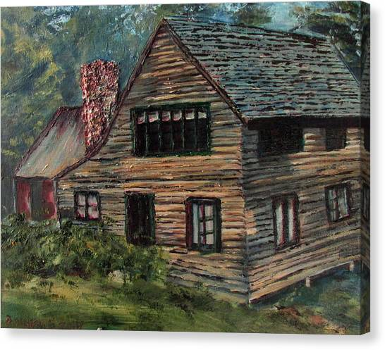 Blueberry Cottage At Twin Lake Village Canvas Print