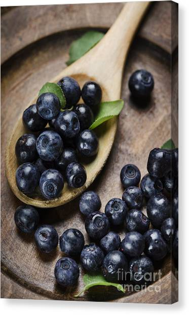 Blueberry Canvas Print