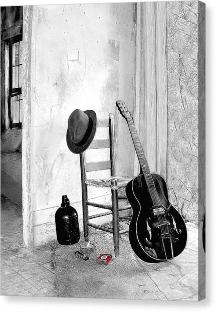Blues Canvas Print by EG Kight