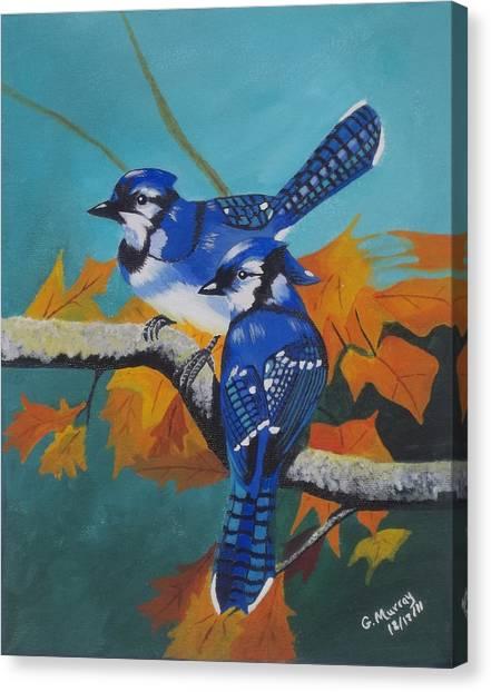 Blues Hangout Canvas Print