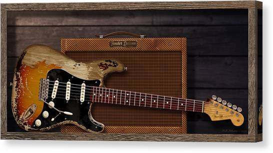 Eric Clapton Canvas Print - Blues Tools by WB Johnston