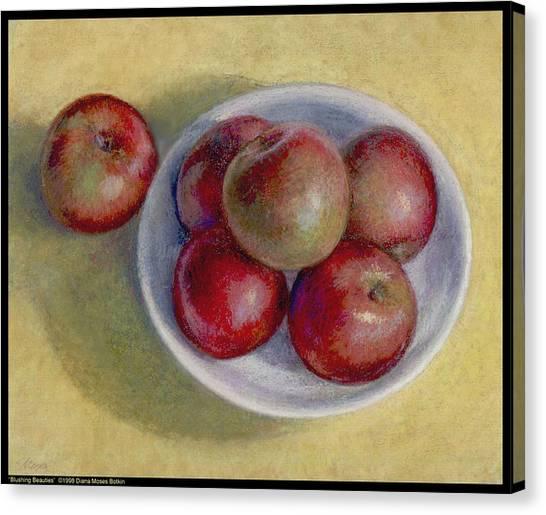 Blushing Beauties Canvas Print