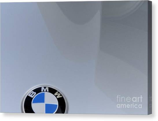 BMW Canvas Print by Andres LaBrada
