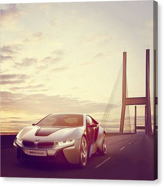 Mercy Canvas Print - #bmw #concept #electrical #fuel by Nawaabi Prince