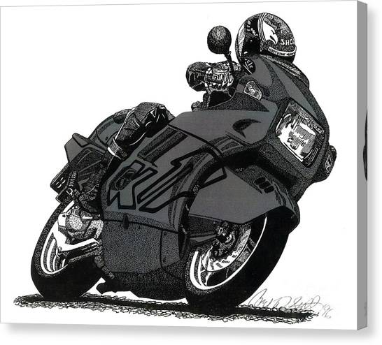Bmw K1 Canvas Print
