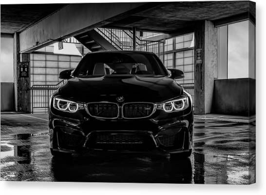 German Canvas Print - Bmw M4 by Douglas Pittman
