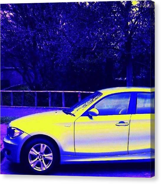 Floss Canvas Print - Bmw Car by Candy Floss Happy