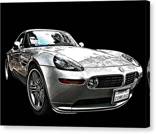 Bmw Z8 Alpina: Bmw Z8 Alpina Roadster Photograph By Samuel Sheats