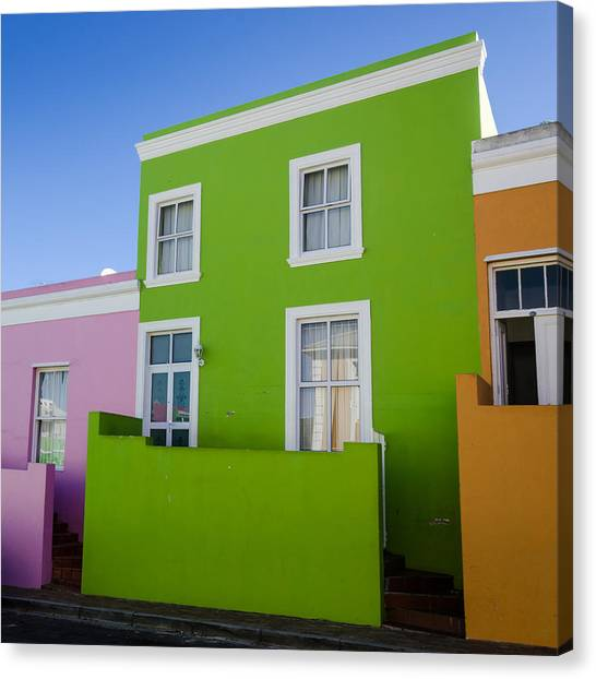 Bo Kaap Colour Canvas Print