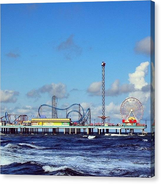 Republican Canvas Print - Boardwalk Empire Galveston by Gerardo Rivera