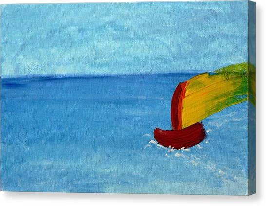 Boat Canvas Print by Anna Mihaylova