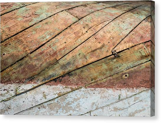 Boat Belly Up Canvas Print
