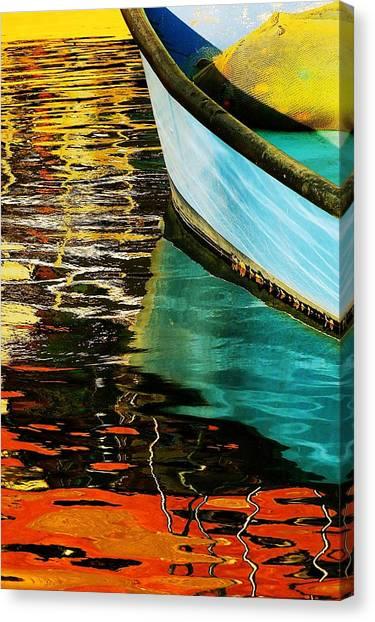 Israeli Canvas Print - Boat   Ll by Eli Hason